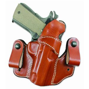 "DeSantis Mad Max Holster GLOCK 17/19/22/23/31/32 IWB/Tuckable 1.75"" Belt Right Hand Leather Tan"
