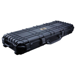 Reliant Mule Double Rifle Rolling Case Lightweight Durable Black Polymer