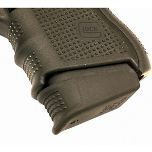 Pearce Grip Extension for GLOCK 26/27/33 Gen 4 Magazines Plus 1-2 Polymer Black