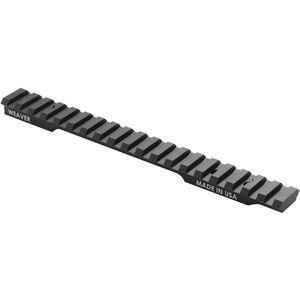 Weaver Remington 700 Long Action Tactical Extended Multi-Slot Scope Base 20 MOA Incline Picatinny/Weaver Ring Compatible Aluminum Black