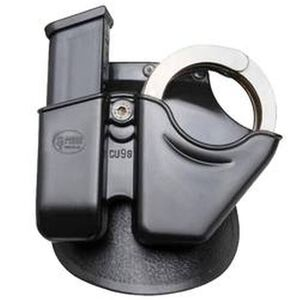 Fobus Handcuff and Magazine Carrier Ruger, SIG Sauer Polymer Black CU9GS