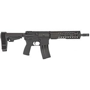 "Radical Firearms 5.56 NATO AR-15 Semi Auto Pistol 10.5"" Barrel 30 Rounds 9"" Free Float M-LOK MHR Handguard SB-Tactical Pistol Brace Black"