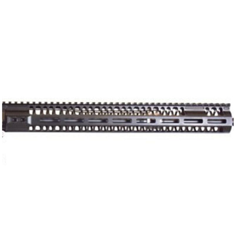 """2A Armament AR-15 Balios-Lite Rail Gen 2 7"""" M-LOK Compatible Free Float Hand Guard 6061 Extrusion Aluminum Hard Coat Anodized Matte Black"""