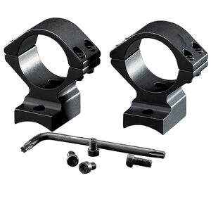 "Browning A-Bolt Integral Mounting System Base/Rings 1"" Medium Aluminum Matte Black"