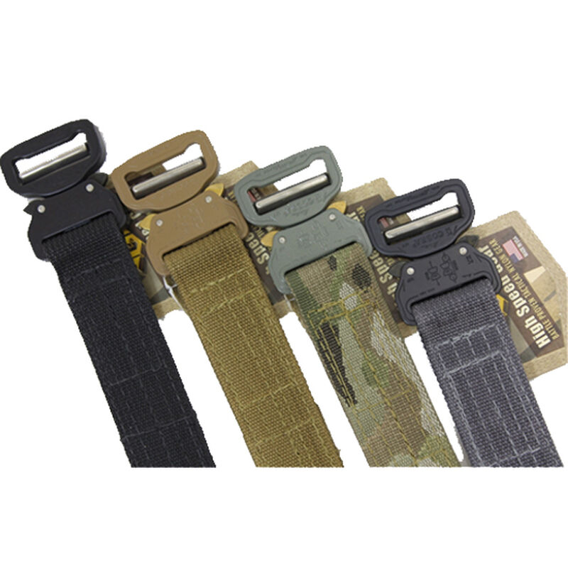"""High Speed Gear Cobra 1.5"""" Rigger Belt w/Velcro Small Coyote Brown"""