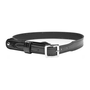 Gould and Goodrich H99 Shoulder Strap Size 38 Chrome Buckle Leather Hi-Gloss Black H99-38CL