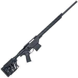 "Mossberg MVP Precision Bolt Action Rifle 5.56 NATO 20"" Threaded Barrel 10 Rounds M-LOK Compatible Forend Luth-AR MBA-3 Adjustable Stock Matte Black"