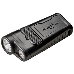 SureFire DBR Flashlight 1000 Lumens Rechargeable Dual Beam Output LED Push Button Switch Polymer Body Black