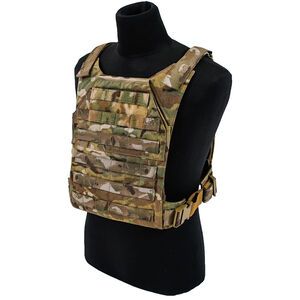 """Grey Ghost Gear Minimalist Plate Carrier 10""""x12"""" Plate Compatible MOLLE/PALS Webbing MultiCam"""
