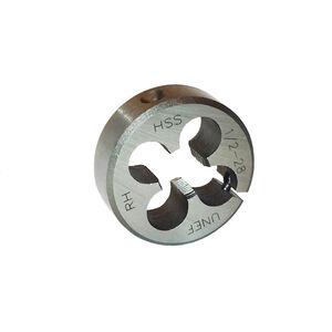 DELTAC 1/2-28 RH HSS Adjustable Round Threading Die TLS141
