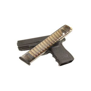 Elite Tactical Systems GLOCK 17/18/19/26/34 Magazine 9mm Luger 31 Rounds Translucent Smoke Finish