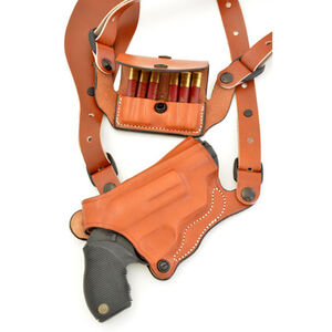DeSantis Gunhide New York Undercover S&W Governor Shoulder Holster Right Hand Leather Tan 11DTAV1P0