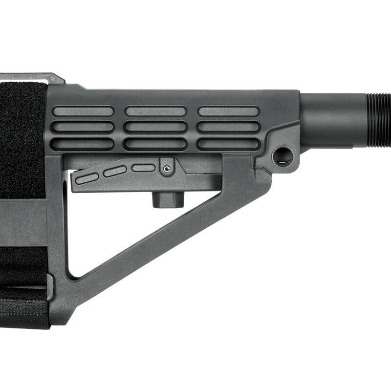 SB Tactical Five Position Adjustable Brace Black With Six Position Mil-Spec Carbine Ext