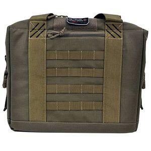 G Outdoors Tactical Cooler with Handgun Storage Tan