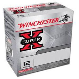 "Winchester Super-X 12 Ga 2.75"" #4 Lead 1.25 oz 25 Rounds"