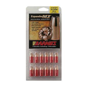 Barnes .54 Caliber Bullets 24 Projectiles Expander MZ FB SCHP 275 Grains