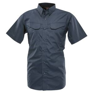 Tru-Spec 24-7 Series Ultralight Field Shirt Short Sleeve Polyester Cotton Ripstop Medium Navy 1093004