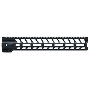 "LANTAC USA SPADA-M AR-15 Free Float Handguard 12.5"" M-LOK Aluminum Black 01-HG-012-SPADA-M"