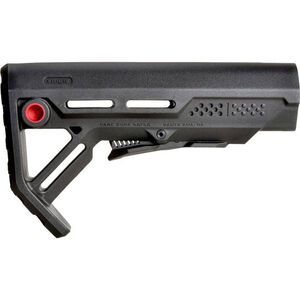Strike Industries AR-15 Viper MOD-1 Collapsible Stock Mil-Spec Polymer Black/Red SI-VIPER-ES-MOD1BK-RED