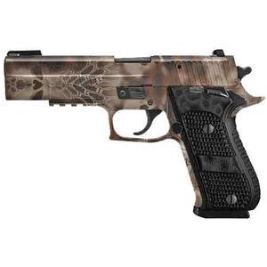 "SIG Sauer P220 Hunter FS Semi Auto Pistol 10mm Auto 5"" Barrel 8 Rounds FO Night Sites G10 Grips Kryptek Highlander Camo Finish"
