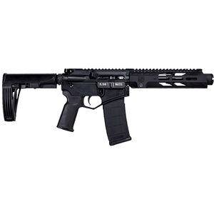 "Diamondback DB15 Diamond Series 5.56 NATO  AR-15 Semi Auto Pistol 7"" Barrel 30 Rounds 9"" M-LOK Handguard Pistol Brace Black Finish"