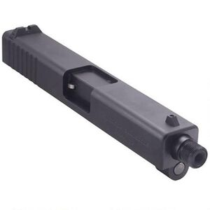 Tactical Solutions TSG-22 GLOCK 17/22 Rimfire Conversion Slide .22 Long Rifle Threaded Matte Black Finish
