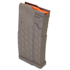 Hexmag LR-308 Magazine .308 Win 10 Rounds Polymer FDE