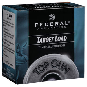 "Federal Top Gun 12 Gauge Ammunition 2-3/4"" Shell #8 Lead Shot 1 oz 1250 fps"
