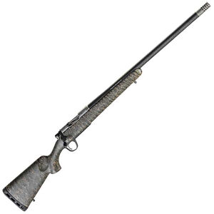 "Christensen Arms Ridgeline 7mm Rem Mag Bolt Action Rifle 26"" Threaded Carbon Fiber Wrapped Barrel 3 Rounds Carbon Fiber Stock Green with Black/Tan Webbing"