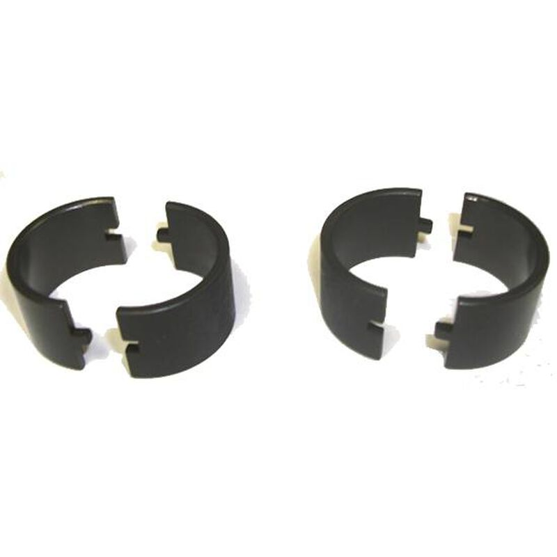 """A.R.M.S. #37 30mm to 1"""" Ring Adapter Spacers Black 37"""
