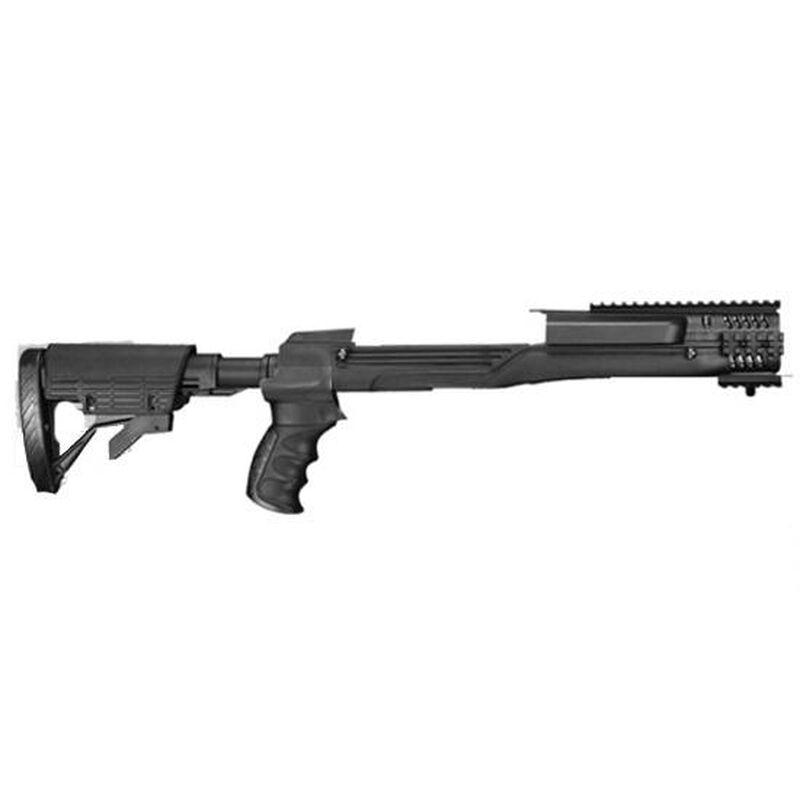 Ruger Mini 14 TactLite Adjustable Side Folding Stock w/SRS Destroyer Gray