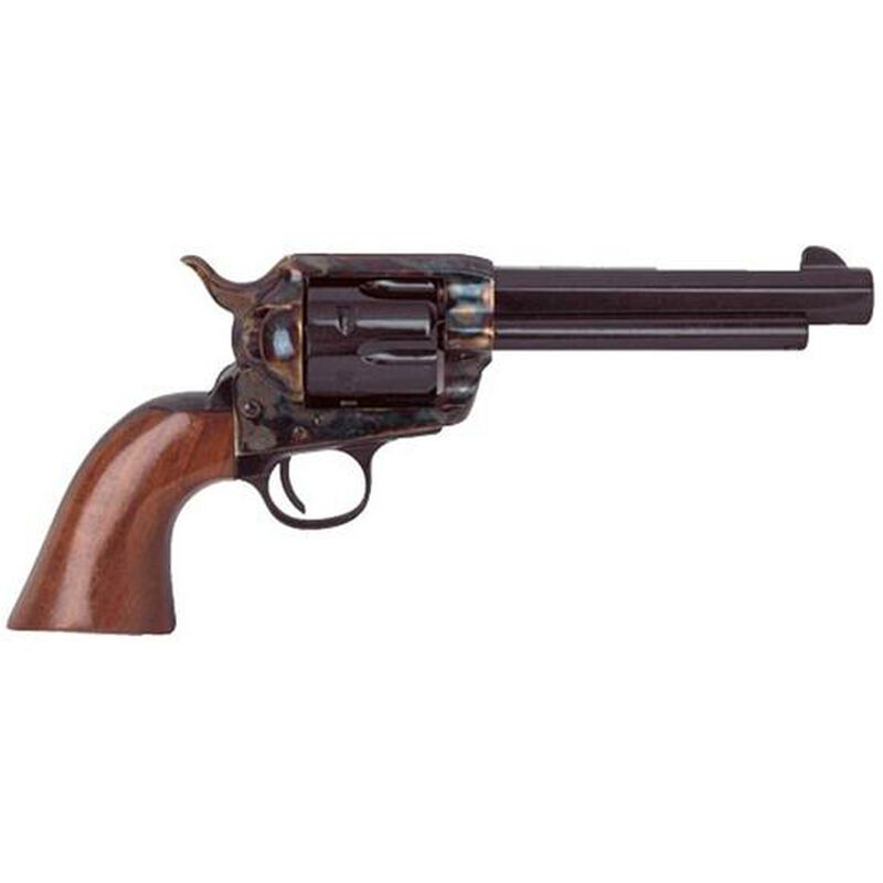"Cimarron El Malo Revolver 357 Mag 5.5"" Barrel 6 Rounds Walnut Grips Blued"