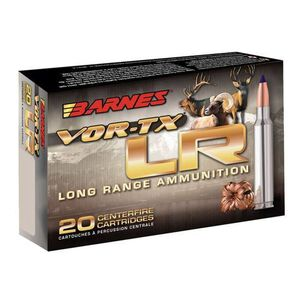 Barnes 7mm Remington Ultra Magnum Ammunition 20 Rounds Lead Free LRX 145 Grains