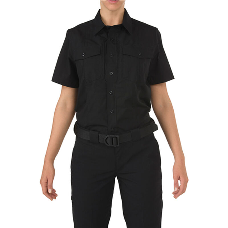 5.11 Tactical Women's Stryke PDU Class B Shirt Med Reg Navy