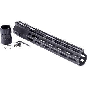 "Wilson Combat LR-308 High Profile MLOK Rail 12.6"" Free-Float Handguard Aluminum Black"