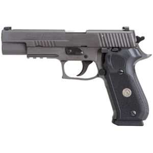 "SIG Sauer P220 Legion Full Size Semi Auto Pistol 10mm Auto 5"" Barrel 8 Round Magazine SIG Rail X-Ray3 Day/Night Sights G10 Grips Legion Gray Slide/Frame Finish"