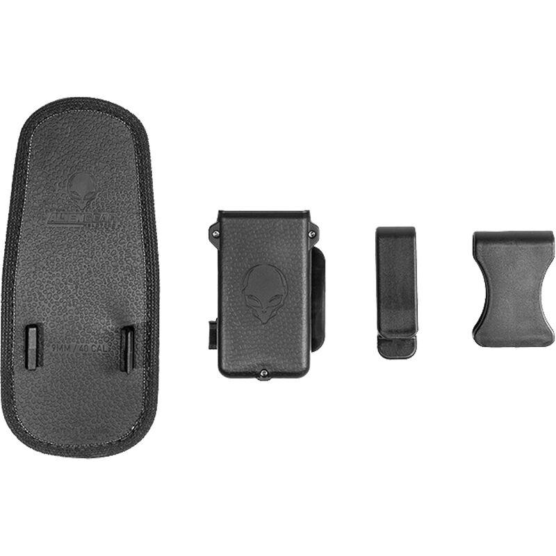 Alien Gear Cloak Single Mag Carrier IWB/OWB Single Stack .45 ACP/10mm Auto Magazines Polymer Black
