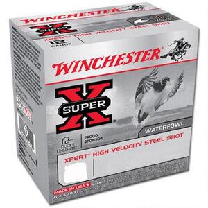"Winchester Super X 20 Gauge Ammunition 100 Rounds, Steel 2.75"", #6"
