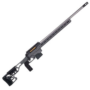 "Savage Firearms 110 Elite Precision 6.5 Creedmoor Bolt Action Rifle 26"" Barrel 10 Rounds Magazine MDT ACC Chassis Cerakote Grey"