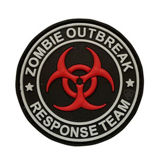 5ive Star Gear PVC Morale Patch Zombie Outbreak Response Team