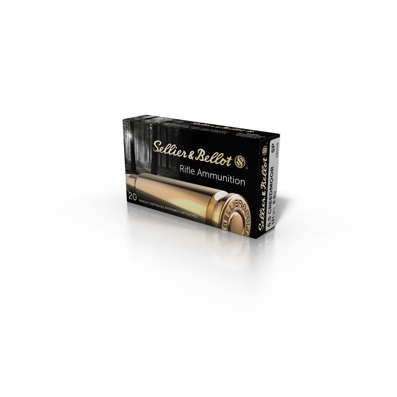 Sellier & Bellot 6.5 Creedmoor Ammunition 500 Rounds SP 131 Grains