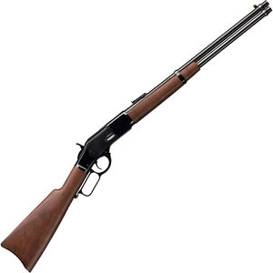 """Winchester 1873 Carbine .357 Mag/.38 Spl Lever Action Rifle 10 Rounds 20"""" Barrel Walnut Stock Blued"""