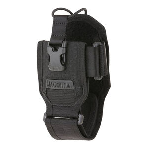 Maxpedition RDP Radio Pouch Dual Nylon Fabric Construction 500D Hex Ripstop/1000D Plain Weave Teflon Finish Matte Black