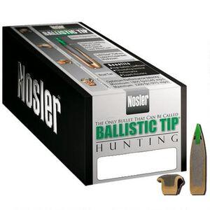 Nosler Ballistic Tip Hunting .30 Caliber (.308 Diameter) 220 Grain Round Nose Polymer Tip Boat Tail Bullet 50 Count