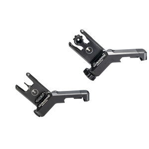 Ultradyne C2 Folding Front And Rear Offset Sight Combo Blade Style Post Black