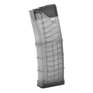 Lancer L5 Advanced Warfighter AR-15 Magazine .223/5.56 30 Rounds Polymer Translucent Smoke 999-000-2320-01