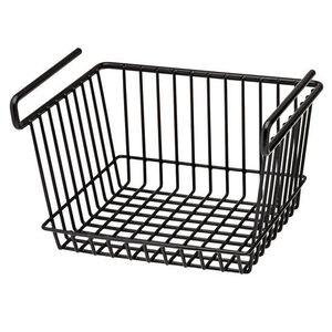 SnapSafe Large Hanging Wire Shelf Basket For Gun Safes Black 76011