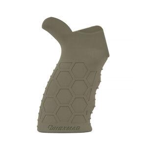 Hexmag AR-15/AR-10 Rubber Tactical Grip FDE HX-HTG-FDE