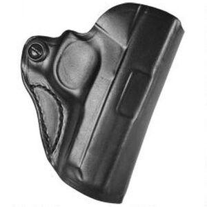 DeSantis Mini Scabbard Belt Holster S&W M&P Shield 9mm/.40 Right Hand Leather Black 019BAX7Z0