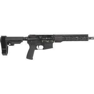"Radical Firearms 5.56 NATO AR-15 Semi Auto Pistol 10.5"" Barrel 30 Rounds 10"" Free Float M-LOK FCR Handguard SB-Tactical Pistol Brace Black"